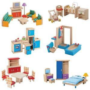 Plan toys Wooden Dollhouse Furniture
