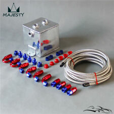 2L Aluminium Universal Complete Fuel Surge Tank 2 Litre Swirl Pot System kit BL