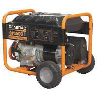 GENERAC 5939 Portable Generator,6875W,389cc