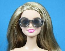 Barbie Transparent Charcoal Gray Round frames Sunglasses 1/6 scale doll
