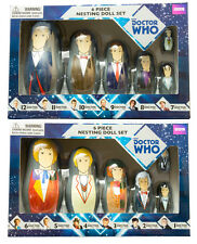 DOCTOR WHO: 6 Piece Nesting Doll Sets (6th/1st & 12th/7th) by Ikon Collectables