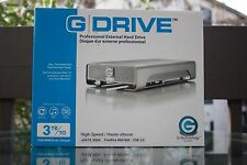 3TB G-Technology G-Drive External Hard Drive eSATA FireWire 800 USB 2.0