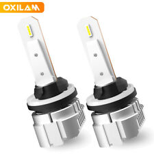 OXILAM LED 880 H27 884 885 893 899 6500K Fog Light DRL Bulb White Super Bright A
