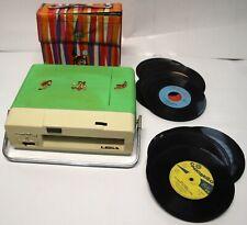 Giradischi lesa mady mody 2 45 e 33 giri in regalo 24 dischi con portadischi