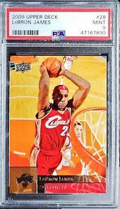 2009 Upper Deck LeBron James PSA 9 Mint Legend Awesome Card!