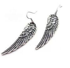 Tibet Silver Womens Hot Fashion Angel Wings Earrings Drop Dangle simple