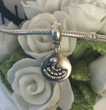 PANDORA STERLING SILVER 'CHINESE ZODIAC SNAKE' DANGLE CHARM #790886
