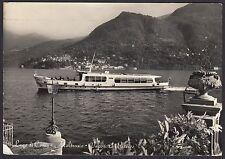 AA4140 Como - Provincia - Moltrasio - Vaporetto in arrivo - Cartolina postale