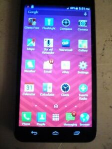 Kyocera Hydro Vibe C6725 - 8GB - Charcoal Gray (Virgin Mobile) Smartphone