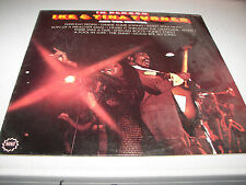 IKE & TINA TURNER IN PERSON w/The Ikettes LP EX Minit LP-24018 1969