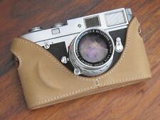 Leather Half Case for Leica M6 M7 MP M2 M3 M4 (Mid Camel)