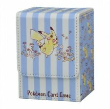 NEW Pokemon Card Game Flip Deck Case Holds 180 sheets Pikachu Japan Original