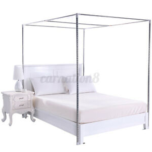 Thickness 25mm Stainless Steel Bed Mosquito Canopy Nets Braket Frame Post AU Y