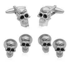 Skull Formal Set Cufflinks & Studs Direct from Cuff-Daddy