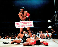 8x10 photo of Cassius Clay standing over Sonny Liston, 1964