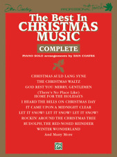 """""""The Best in Christmas Music-Complete"""" DAN COATES PIANO SOLOS MUSIC BOOK-NEW!!"""