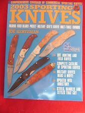 Sporting Knives 256 pg book SOG Beretta Boker Case Coast Marbles mint book