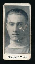1924-26 V128 Paulin's Candy #55 CLUCKER WHITE (Fort William-MSHL)