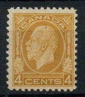 Canada 1932-3 SG#322, 4c Yellow-Brown KGV MH #A74860