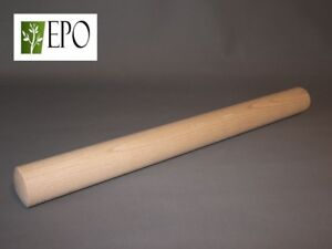 """18"""" 45cm VERY LONG LARGE WOODEN ROLLING PIN PASTRY COOKING BAKING"""