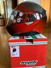 New Nolan N100-5 Modular Flip Up Motorcycle Helmet Fade Cherry Size L