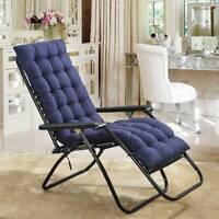 Patio Backyard Garden Lounge Seat Lounge Chair Outdoor Padding Mat Cushion Thick