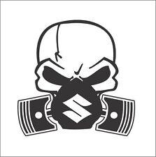 Skull Mask Car Truck Van Window Vinyl Decal Sticker Suzuki SX4 Ninja Swift JDM