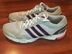 Adidas Marathon 10.5 AdiPrene AdiWear Mens Running Shoes Gray Silver Size 11.5
