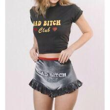 Solstice Intimates Bad Bitch Club Ruffle Shorts Velvet Shorties Heart