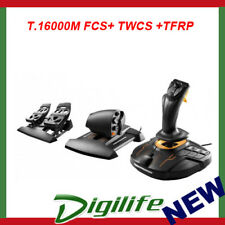 Thrustmaster T.16000M + TWCS + Flight Rudder Pedals 3in1 Gaming Pack For PC