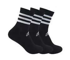 adidas Cushion Crew Socks 3PP Tennis Running Badminton Soccer Yoga NWT DZ9347