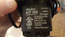 Aqueon Circulation Pump 1650 8.3 Watt New! Free Shipping!