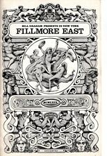 Incredible Sting Band And Ten Years After Fillmore East Program 1969