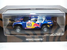 Minichamps Volkswagen Touareg Dakar Rallye Por la Pampas 2005 Winners Saby/Perin