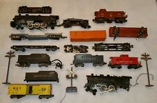 Vintage American Flyer Train Parts LOT, Cars and Engines