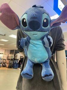 Primark Disney Lilo & Stitch Travel BackPack Bag Rucksack RARE Plush Teddy