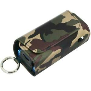PU Leder Tasche Case Schale Cover Etui Hülle Schutzhülle für IQOS 3 DOU