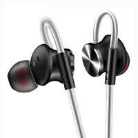 Amazing! Metal Stereo Headphones HIFI Super Bass Sport Running Earphone With Mic