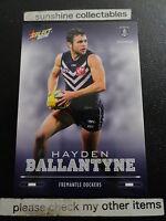 2016 AFL SELECT FOOTY STARS BASECARD NO.65 HAYDEN BALLANTYNE FREMANTLE DOCKERS