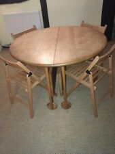 Beech 6-8 Seater Extending Dining Table.