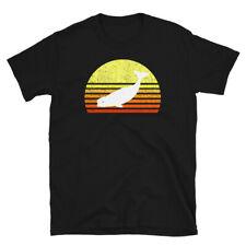 Beluga Whale Shirt Love Marine Mammals Retro Sunset Vintage Tee Unisex T-Shirt