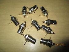 BNC sockets for chasis 10 pcs