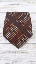 "Vintage 1970's Men's dapper/funky ""SAM"" vintage, brown Kipper Tie."