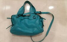 COUNTRY ROAD BAG turquoise leather