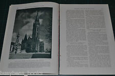 1932 magazine article, BUDAPEST, history, people, Hungary Danube Buda & Pest