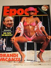 EPOCA=1987/1917=MARINA RIPA DI MEANA=ALESSANDRO QUASIMODO=DESMOND MORRIS=