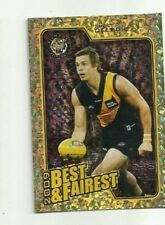 2010 AFL SELECT RICHMOND BRETT DELEDIO Herald Sun Best & Fairest BF12 CARD