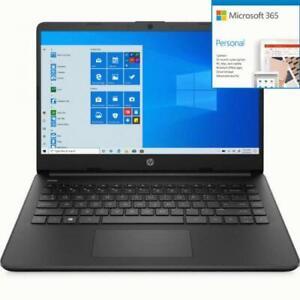 HP 14 Series 14  Touchscreen Laptop Intel Celeron N4020 4GB  + Microsoft 365 Bun