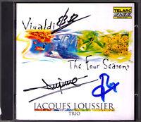 Jacques LOUSSIER Signiert VIVALDI The Four Seasons Die vier Jahreszeiten Jazz CD