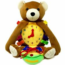 """BUCKLE TOY """"Billy"""" Bear Backpack"""
